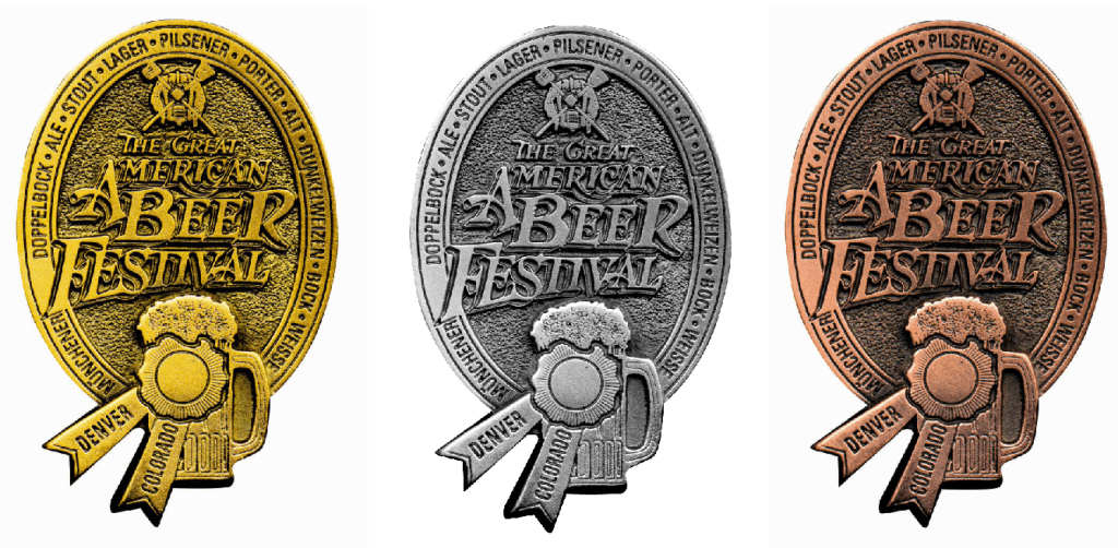 great american beer festival all 3 medals