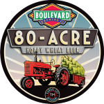 80-Acre Wheat Badge