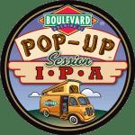 Pop Up Session IPA Badge